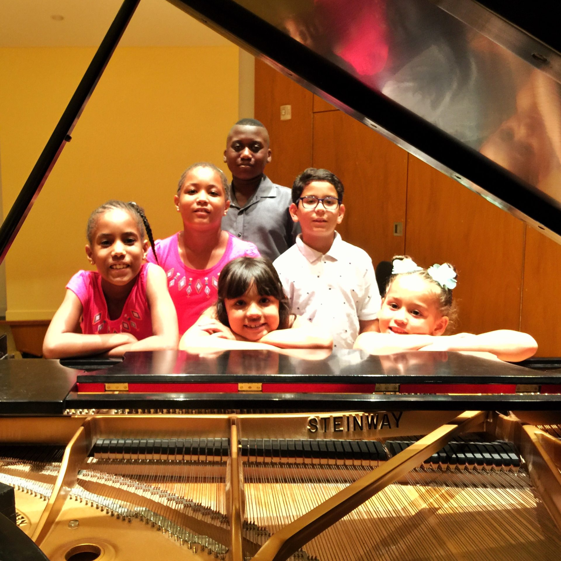 Keys 2 Success students perform at the John J. Cali School of Music at Montclair State University, July 2018