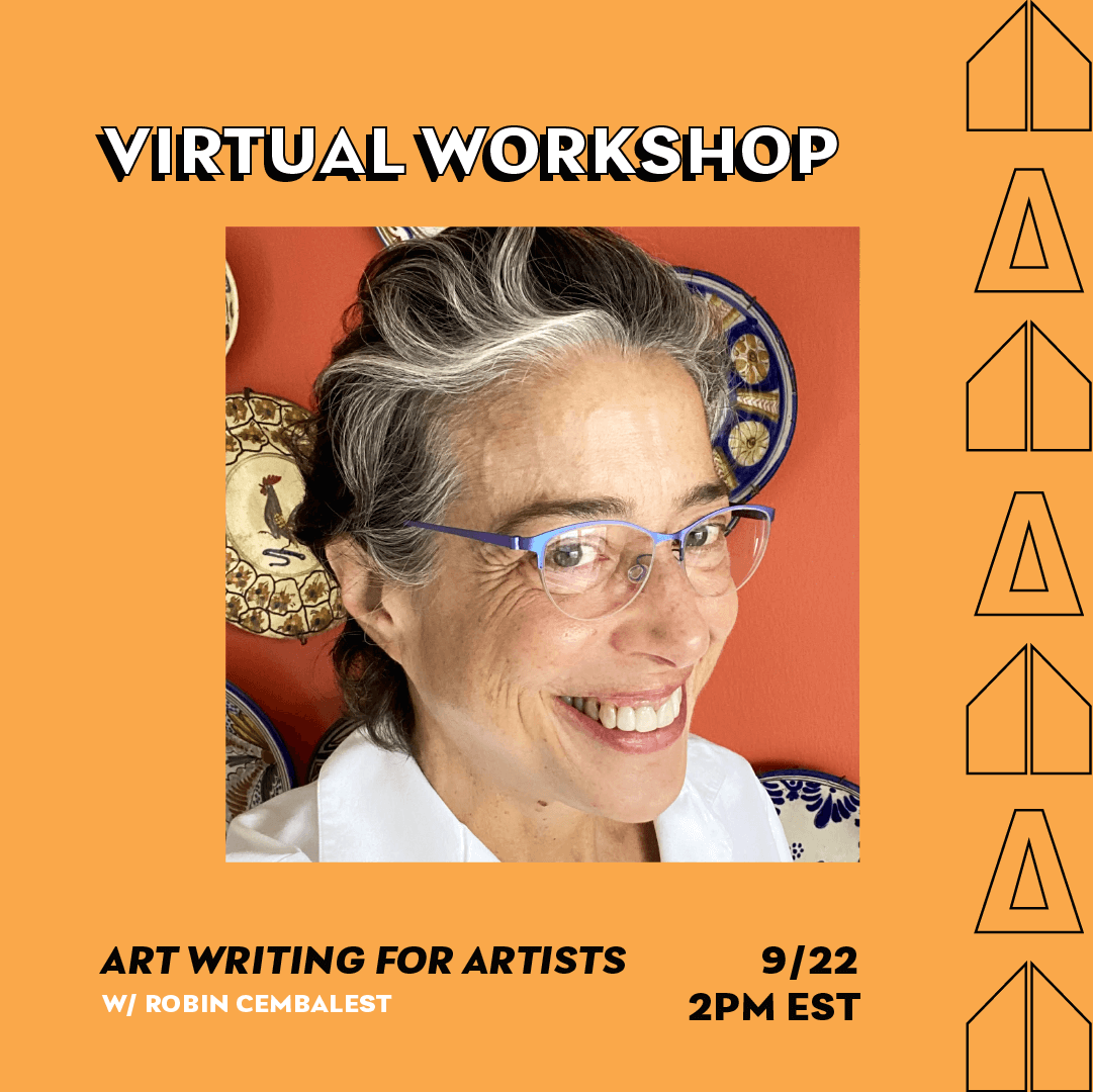 Art Writing for Artists with Robin Cembalest